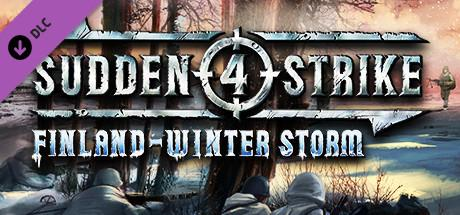 Sudden Strike 4 Finland: Winter Storm Header