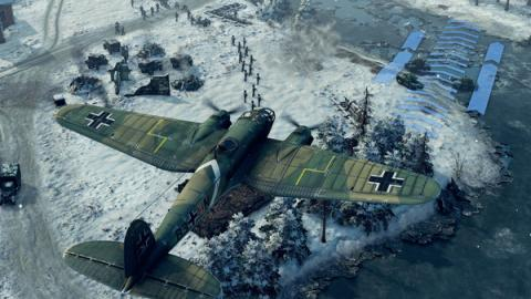 Sudden Strike 4 Finland: Winter Storm Screenshot