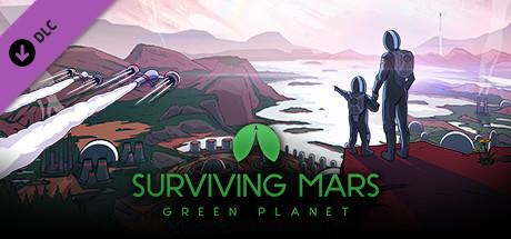 Surviving Mars Green Planet Header