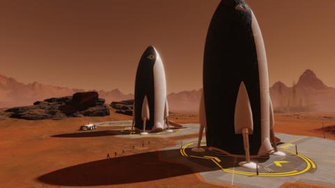 "Surviving Mars ""Space Race"" Screenshot"