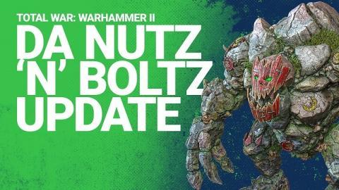 """Total War WARHAMMER II: """"Da Nutz 'N' Boltz update"""" Header"""