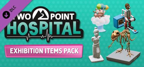 Two Point Hospital: Exhibition Items Header