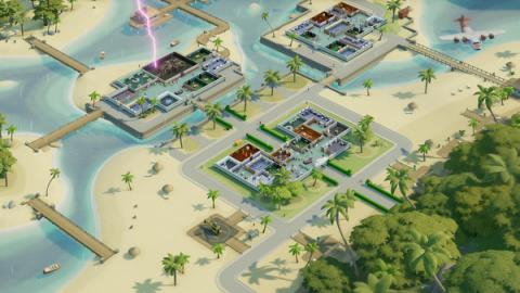 "Two Point Hospital: DLC ""Pebberley Island"" Screenshot"