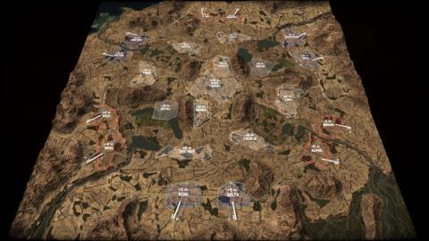 Wargame: Red Dragon - Russian Roulette Screenshot