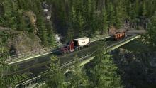 "American Truck Simulator DLC ""Washington"" Screenshot"