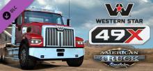 "American Truck Simulator ""Western Star 49X"" Header"