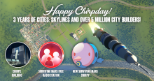 Cities Skylines: 3-Jahres-Jubiläums-Patch Header