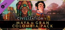 Civilization VI Maya Gran Colombia Pack Header