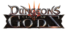 Dungeons 3 Clash of Gods Logo