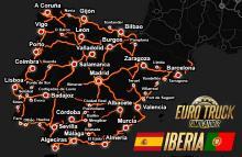 ETS 2 Iberia Map