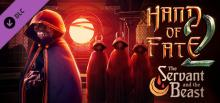 """Hand of Fate 2 DLC """"The Servant and the Beast"""" Header"""