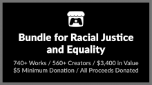 "itch.io: ""Bundle for Racial Justice and Equality"" Header"