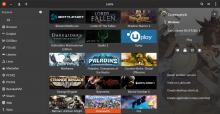 Lutris New Client Screen