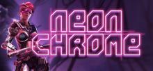 Neon Chrome Header