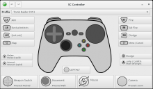 SC-Controller Screenshot