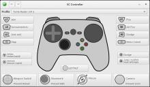 SC-Controller Screenshot