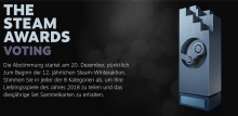 Steam Awards 2018 Header
