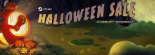 Steam Halloween Sale 2018 English Header