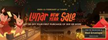 New lunar year sale 2019 Header