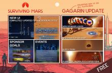 Surviving Mars Gagarin Update
