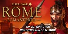 Total War: ROME REMASTERED Deutsch Header