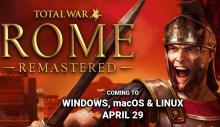 Total War: ROME REMASTERED English Header