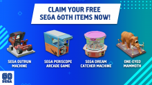 "Two Point Hospital DLC ""SEGA 60th Items"""