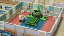 "Two Point Hospital: DLC ""Culture Shock"" Screenshot"